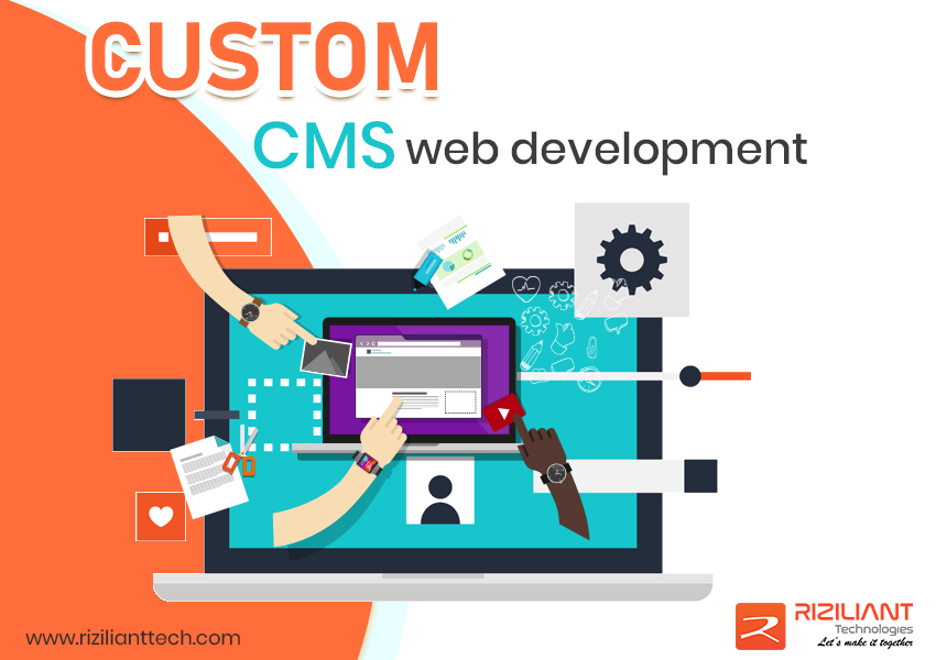 Custom cms web development company